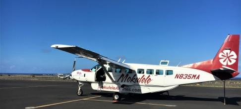 Mokulele Airlines ~ 8-person island hopper