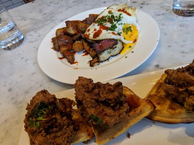 earls_chicken & waffles